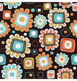 background from flowers vector image