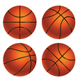 Basketball Ball4 vector image vector image