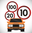 Drive Safety vector image