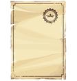 Grungy parchment