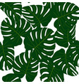 seamless tropical pattern vector image