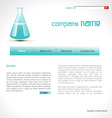 science template vector image