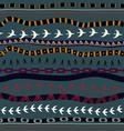 Tribal seamless texture vector image
