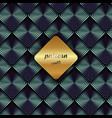 abstract metallic geometric blue square pattern