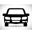 Black car icon Transportation design vector image vector image