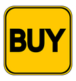 Buy button vector image