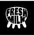 Fresh milk concept vector image vector image