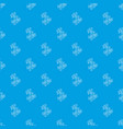 natural bamboo pattern seamless blue vector image
