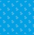 natural bamboo pattern seamless blue vector image vector image