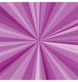 Purple rays background for your bright beams vector image vector image