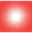 red rays background vector image vector image