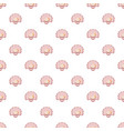 shell pattern seamless vector image vector image