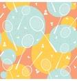Badminton vintage seamless pattern vector image vector image