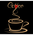 Coffee love vector image