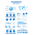 Infographic Elements pack vector image