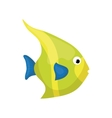 Marine fish cartoon vector image