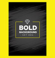 bold black grunge background texture vector image vector image