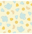 Breakfast tea pattern vector image
