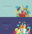 Imagination Banners vector image