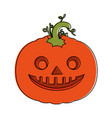 Pumpkin hallooween decorative icon