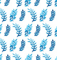 seamless watercolour pattern vector image vector image