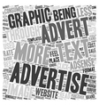 Text v Graphic on Adsense text background vector image vector image