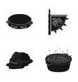 washing music and or web icon in black style vector image vector image