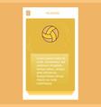 basketball mobile vertical banner design design vector image vector image