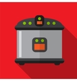 Breadmaker flat icon vector image vector image
