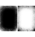 halftone grunge texture monochrome vector image