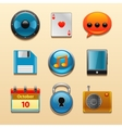 Icons for Web and Mobile Applications set vector image