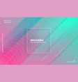modern abstract trendy colorful geometric vector image