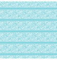 seamless background White lace on light blue vector image vector image