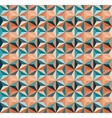 Seamless Geometric Triangle Tiling Pattern vector image vector image