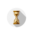 Time conceptual stylized icon Old-fashioned vector image vector image