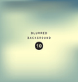 Blurred abstract gradient background sky vector image vector image