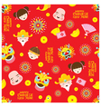 Chinese New Year Seamless Pattern vector image vector image