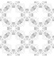 Circle cross gray abstract seamless pattern vector image vector image