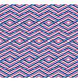 Modern zigzag bright geometric seamless pattern vector image