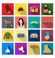 recreation cooking textiles and other web icon vector image vector image