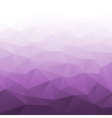 Abstract Gradient Violet Geometric Background vector image vector image