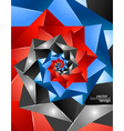 Background abstract geometric design vector | Price: 1 Credit (USD $1)