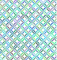 Colorful curved pattern background design vector image vector image