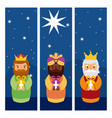 Feliz dia de los reyes three magic kings bring