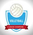 Sport design over white background vector image