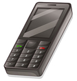 A cellular phone vector image vector image