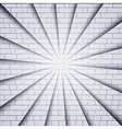 brick wall background Eps10 vector image vector image