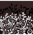 hedgerow pattern vector image