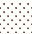 Ice cream with chocolate sauce on a stick pattern vector image