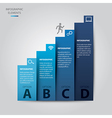 Ladder of Success Infographic vector image